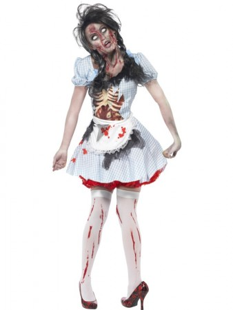 Horror Zombie Countrygirl Costume 2639d48d01dd2