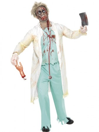Zombie Doctor Costume 9524a3004d707