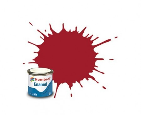 Paint enamel gloss 14 ml crimson