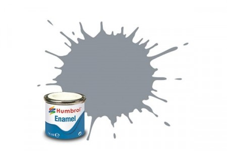 Paint enamel satin 14 ml raf barley grey