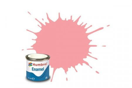 Paint enamel gloss 14 ml pink