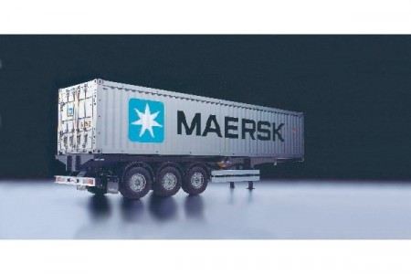 1/14 40FT MAERSK CONTAINER M. SEMI TRAILER