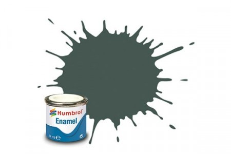 Paint enamel matt 14 ml grey primer