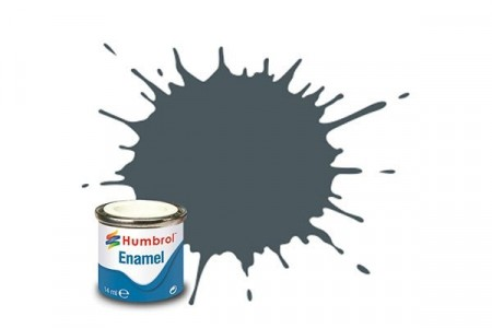 Paint enamel satin 14 ml us dark grey