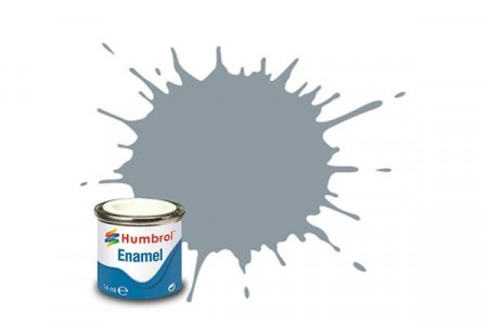 Paint enamel satin 14 ml medium sea grey