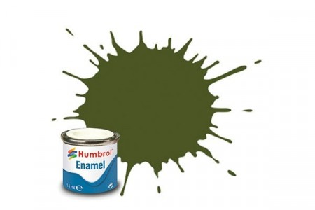 Paint enamel matt 14 ml Foliage green