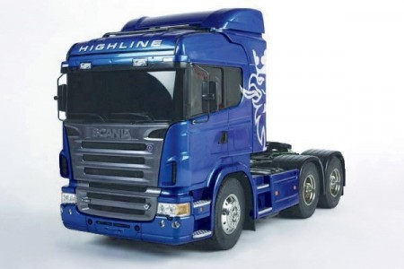 1/14 SCANIA R620 (PRE-PAINTED BLUE)