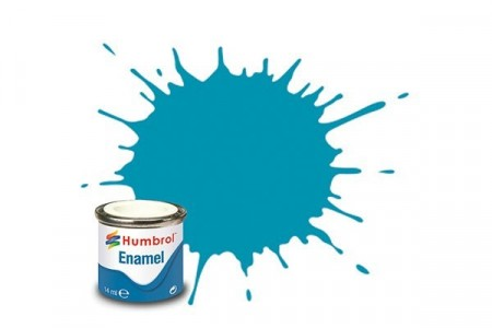 Paint enamel matt 14 ml mid blue