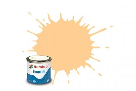 Paint enamel matt 14 ml radome tan